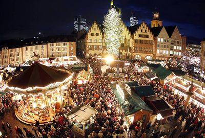 праздники в России и Германии