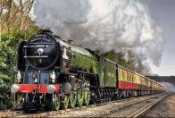 история поезда