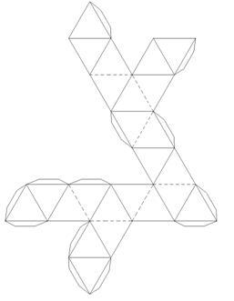 Развертки звездчатых многогранников