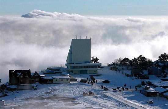 Горнолыжный центр на Ай-Петри