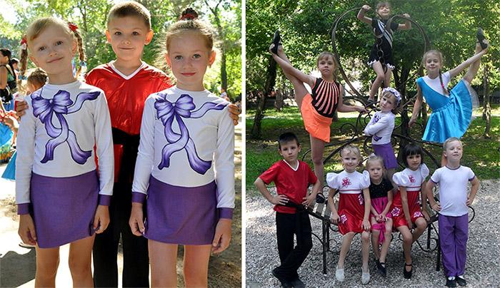 Выступления в детском парке г. Симферополя