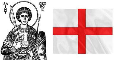 Святой Георгий и флаг Святого Георгия