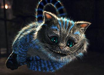 Чеширский кот и Алиса