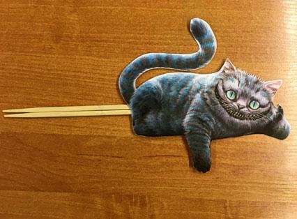 Фигура чеширского кота