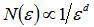 Формула фрактальной дробной размерности