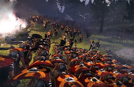 Нападение Римского легиона черепахой