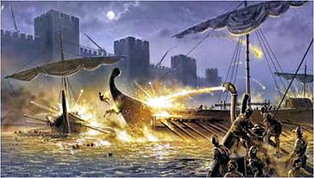 Римская боевая галера