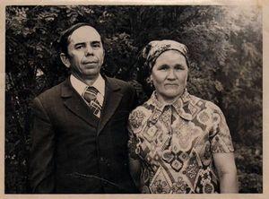 Фотография - бабушка и дедушка
