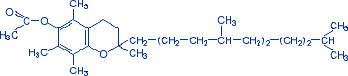 Формула витамина Е