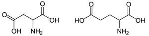 Аспарагиновая и глутаминовая кислота