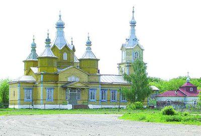 церковь в шибряе