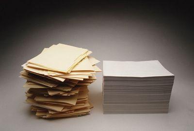 бумага переработка