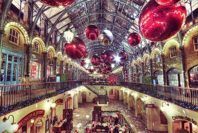 рождество в России и Британии