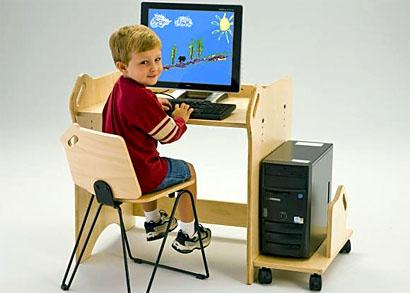 Комфортное рабочее место школьника за компьютером