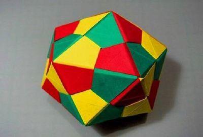 оригами и треугольники
