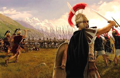 Воинственный древний Рим