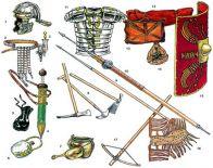 Оружие римских легионеров