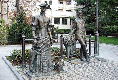 памятники героям литературы