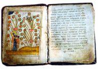 Древняя пергаментная книга