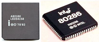 микропроцессор Intel 80186 и 80286