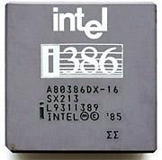 микропроцессор Intel 80386