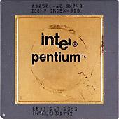 микропроцессор Intel Pentium