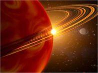 Планета солнечной системы Сатурн