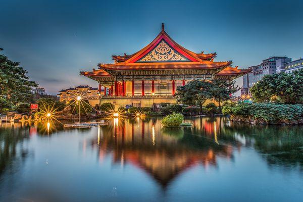 Буддийский храм на Тайване