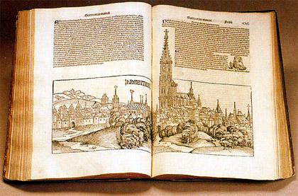 Книга инкенамбула в Европе