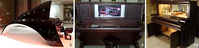 Рояль кит, пианино-телевизор, пианино-стол