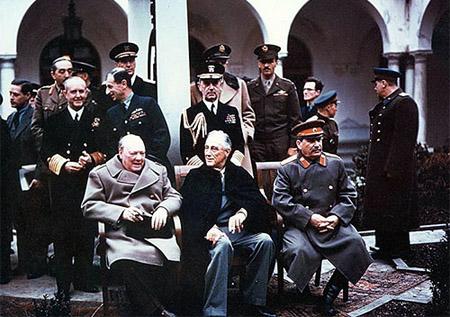 Ялтинская конференция большой тройки 1945 год