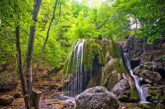Водопады в Большом каньоне