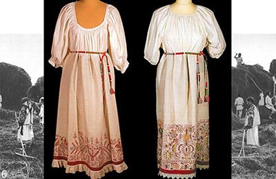 Женская рубаха-сенокосица