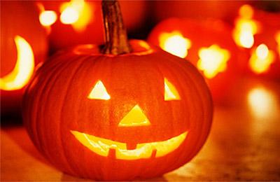 Символ Хэллоуина - тыквенная голова