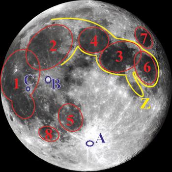 луна в телескопе 3