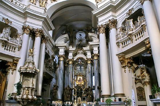 Доминиканский храм во Львове