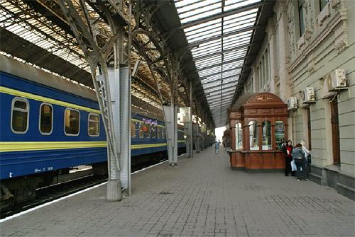 железнодорожный вокзал во Львове