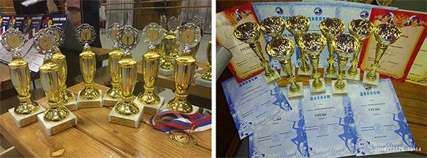 Награды образцового хореографического коллектива Грёзы