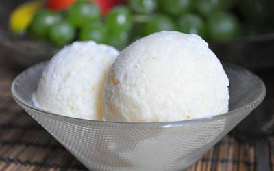 сливочное мороженное