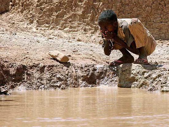 Недостаток воды в Африке