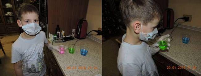 Опыты с омывательной жидкостью
