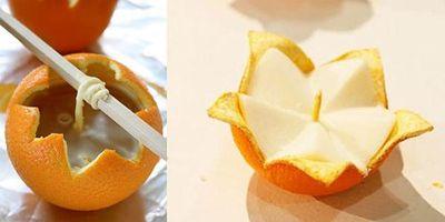апельсин и свечи