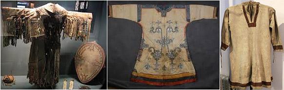 Костюм шамана эвенков и Рубаха из ровдуги