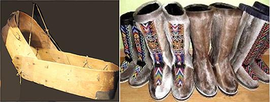 Обувь эвенков-орочонов