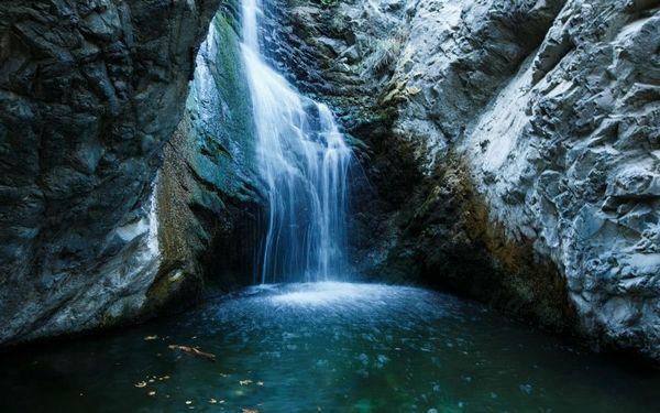Отдых на Кипре - водопад