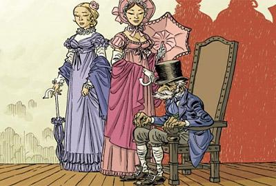 Отец Горио и дочери в романе О. Бальзака