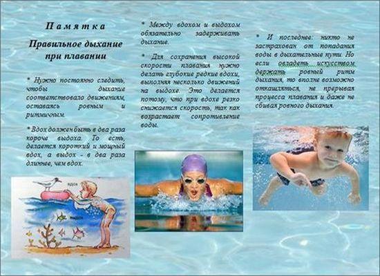 правила плавания