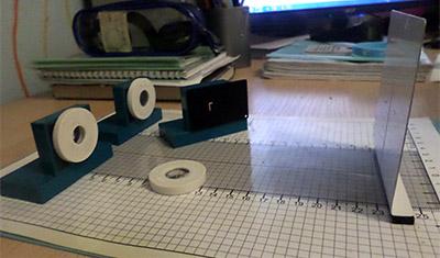 Набор по геометрической оптике для фронтальных лабораторных работ по физике