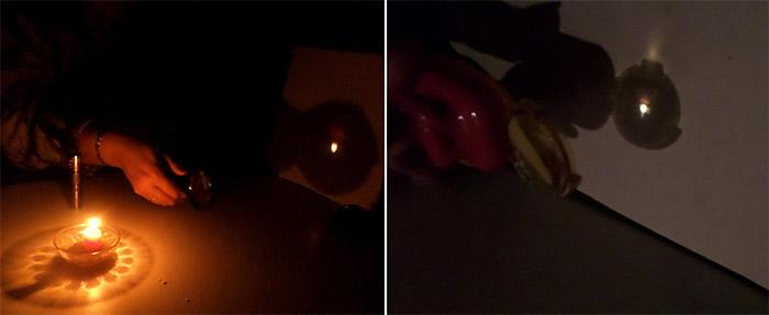 Собирающие линзы и источники света