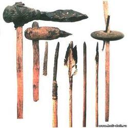 первобытные инструменты